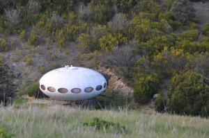 Futuro House in its present location