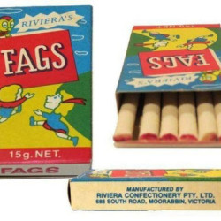 I was a packet a day kid!