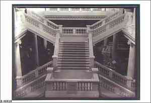 Photo from the State Library of SA. The magnificent  marble staircase