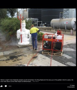 Scott Bigharvs' photo; Well you asked .. Here he is in his current form! Check out Spit Water pressure cleaners page.