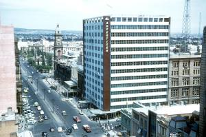 Photo courtesy of Frank Hall. I miss the Advertiser building. Somehow it represented so much about Adelaide for me