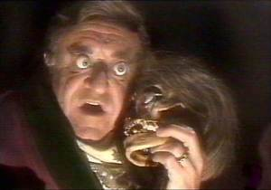 Photo from You Tube. Deadly Earnest was the late-night horror movie host played by Hedley Cullen between 1967 to 1978 on Channel 10 Adelaide.