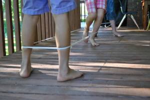 Photo from Google Images. The girls were more into elastics too. If you could just get your hands on a decent length of elastic from mum's sewing basket,