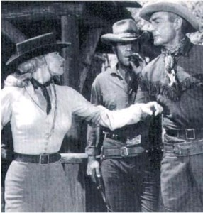 Randolph Scott would have just dispensed with all the baddies, sooting them with his trusty six-gun and would then get a kiss from the heroine.