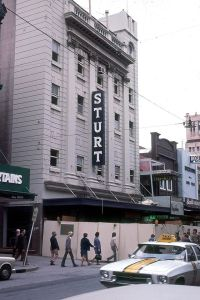Photo from Frank Hall. The Sturt Theatre just after it closed was renovated and turned into offices