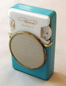 Photo from Google Images.With the introduction of the transistor, suddenly music became portable.