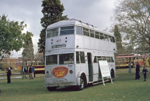 Photo by Henk Graalman© from Flickr photo sharing. Used on the trolleybus services to Tusmore, Port Adelaide, Semaphore and Largs. In service from 1937 to June 1957. Displayed in Victoria Square during the 100 years on transit in Adelaide celebrations.