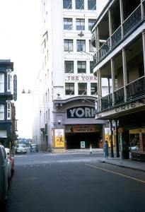 Photo by Frank Hall. The York in Rundle Street was demolished when Gawler Place was widened on the 60s