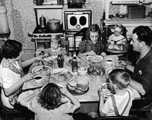 Photo from Google Images. Like most single income families back then, there was never very much spare money about to spend on extras