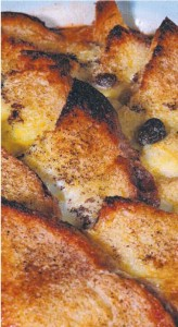 Photo from the Advertiser. Mum's bread and butter pudding. What else could you do with stale bread?