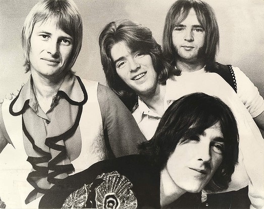 The Masters Apprentices, from left, are Glenn Wheatley, Jim Keays, Doug Ford, and front, Colin Burgess. 1969 Photo: Fairfax Archives