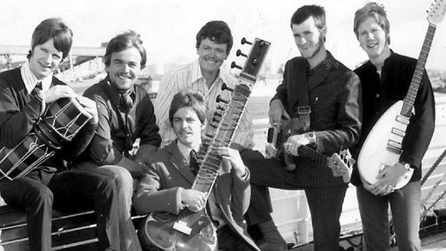 The Twilights in 1967 were Laurie Pryor, Glenn Shorrock, Terry Britten, Paddy McCartney, John Bywaters and Peter Brideoake. Source: The Advertiser.