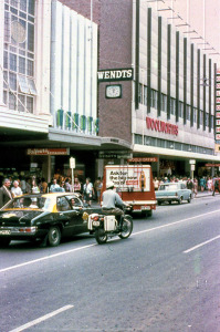 Photo from Baytram 366 on Flickr. For many it was Balfour's Tea Rooms in Rundle Street. In 1972 the shop was said to be the busiest in the southern hemisphere.