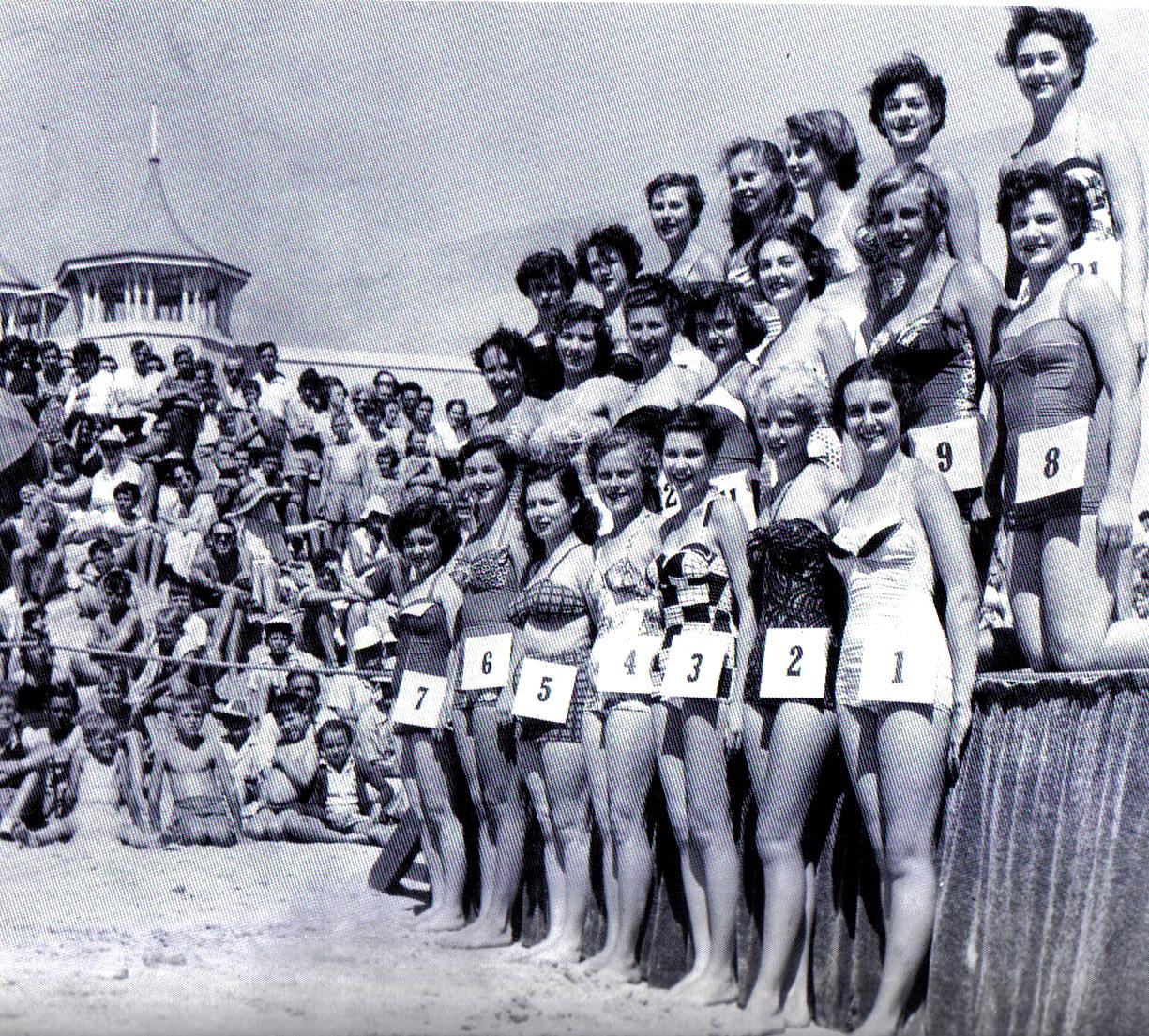 The  Semaphore Beach Girl Quest taken in 1954