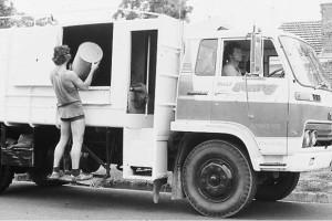 Garbage truck 1970s