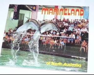 Postcard featuring Marineland scenes. Many people find they have very mixed emotions about the place.