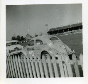 Photo from Barry Feuerhardt. One of the Volkswagons at the Norwood Oval in 1953