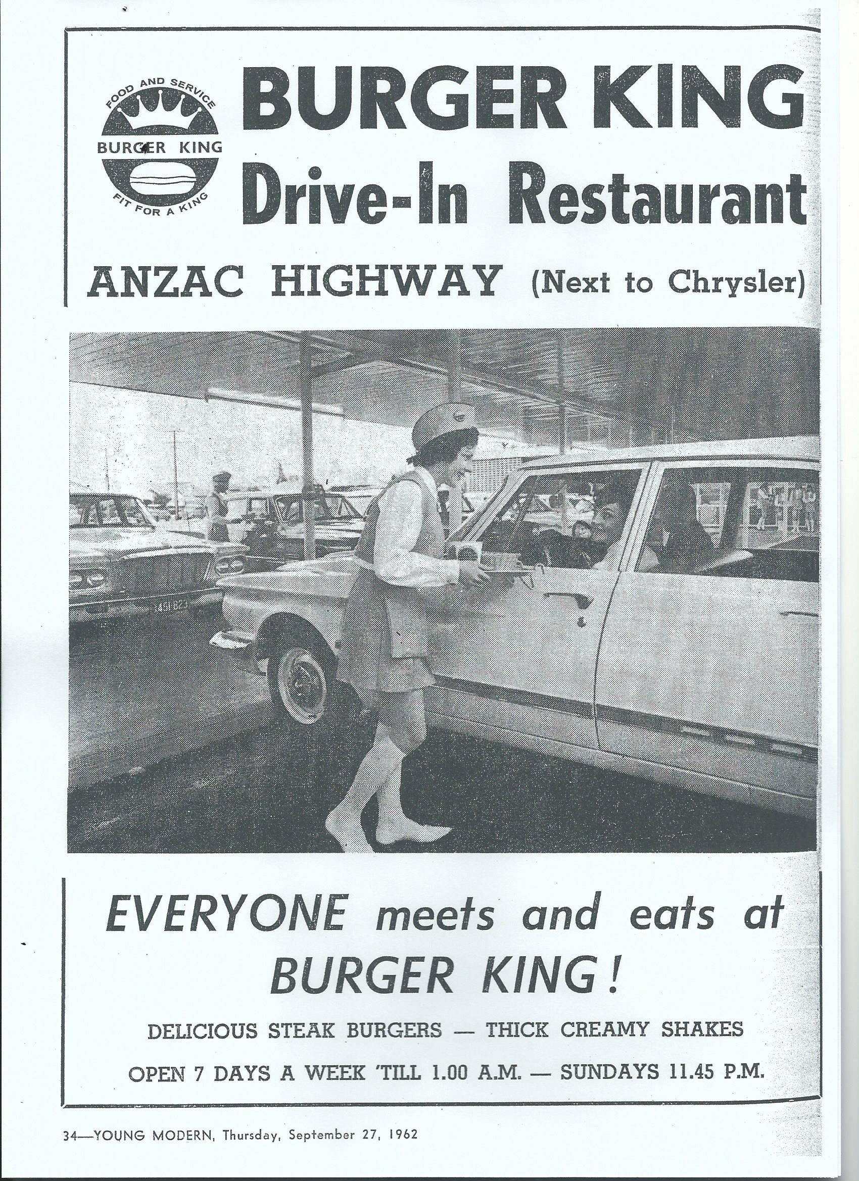When Burgers Were King | Adelaide Remember When