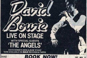 The Adelaide concert was made even more memorable by the fact that it was Bowie's first ever show in the Southern Hemisphere, the first open air gig of the tour and first large scale outdoor concert Bowie had ever played.