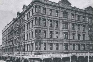Photo courtesy of State Library of SA. The Grand Central Hotel in 1924, a truly magnificent building
