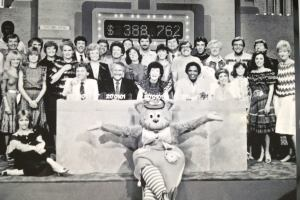 """the """"Channel 10 Christmas Appeal"""". Stars from around the network would fly into Adelaide for the weekend live broadcast from SAS10 studios in Gilberton."""