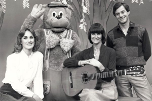 Photo from Channel 10 (Now 7). Patsy had actually started out on Channel 9 in the 60s with appearances on Here's Humphrey but later switched channels to co-host the Fat Cat show.