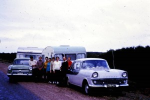 "Kenny Peplow sent in this photo from ""about 50 years ago, this is how we went on the family holiday"""