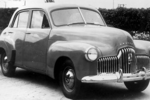 Photo from the Advertiser. We were happy to settle for an FX or FJ Holden, Ford Consul, a Zephyr or Prefect.